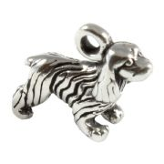 Cocker Spaniel 3D Sterling Silver Charms